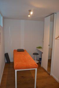 De behandelkamer van kine praktijk Isokine Deurne