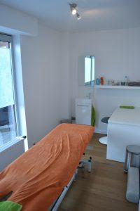 De tweede behandelkamer van Isokine Deurne
